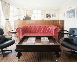 Pink Tufted Sofa   M