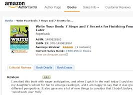 how to add editorial reviews to your book on amazon publish your  amazon editorial reviews page