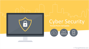 Power Point Tempaltes Cyber Security Powerpoint Template Templateswise Com