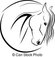 horse head clipart. Modren Horse Horse Head  Vector With Head Clipart G