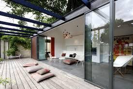 pool house ideas. Posh Pool House With Glass Walls Ideas