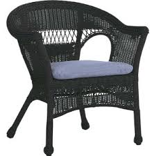 image black wicker outdoor furniture. easy care resin wicker chair image black outdoor furniture