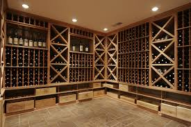 Wood Wine Cellar Design
