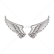 Wing Design Wings Design Vector Image 1873123 Stockunlimited
