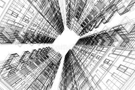 architecture drawing. Fine Architecture Download High Building Structure Architecture Abstract 3d Illustrationarchitecture  Drawing Stock Illustration  And U