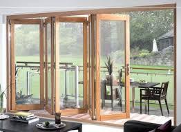 Tri Fold Window Details About Oak External Wooden Timber Bi Fold Tri Fold