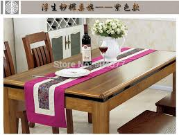 rustic extra long patchwork table runner european style high end cover cloth coffee table cloth bourette