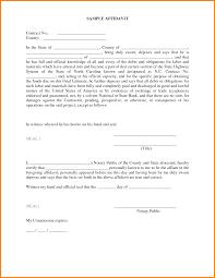 Affidavits Template 24 affidavit template Receipt Templates 1
