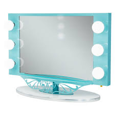 broadway lighted table top vanity mirror from vanity girl hollywood