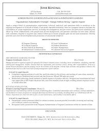 Pleasant Program Coordinator Resume Objective On Special Education