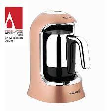 Korkmaz Kahvekolik Rosagold/Krom Otomatik Kahve Makinesi A860-06 -  Alkapida.com