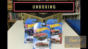Unboxing - Hot Wheels Case A 2018 (Original Seal)
