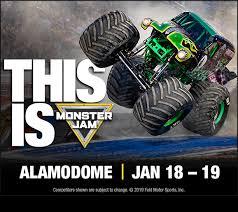 Monster Jam Alamodome