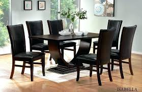 glass dining table and 8 chairs dining room sets 8 chairs contemporary dining room set 8