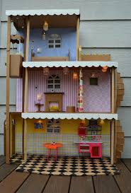 I made a barbie house like this when I was a kid. Just a cardboard
