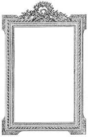antique black frame. Antique French Picture Frame Clip Art Image The Graphics Fairy Antique Black N