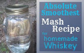 mash recipe for moonshine