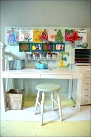 kids desk with storage kid art diy wood table extra art studio desk