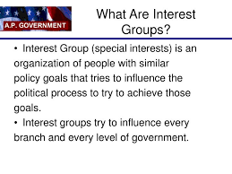 What Are Interests Ppt Interest Groups Powerpoint Presentation Id 3008567
