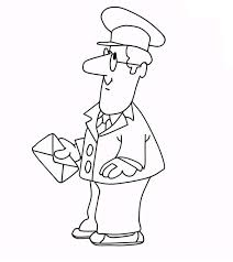 Small Picture Picture of Postman Pat Coloring Pages Bulk Color