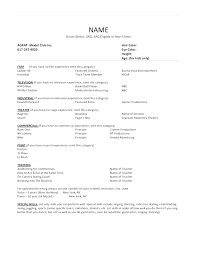 Three Column Resume Template Best of Three Column Resume Template Create 24 Column Acting Resume Template