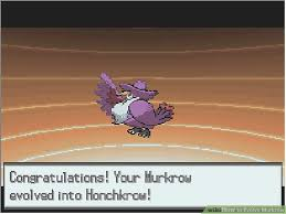 Pokemon Murkrow Evolution Chart How To Evolve Murkrow 5 Steps With Pictures Wikihow