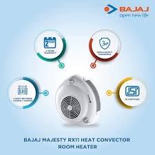 best bajaj roomheater heat convector