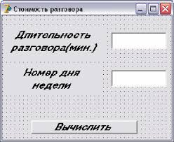 Задания контрольной работы № по информатике ЯП delphi Контрольная работа № 1 по delphi