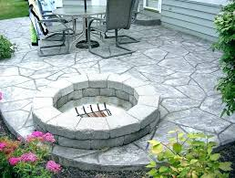 flagstone patio cost installation per square foot installed vs stamped concrete