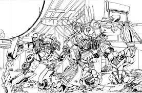 Small Picture Transformers Optimus Prime Coloring Pages Bebo Pandco