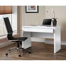 designer computer desks for home. luxor contemporary curved gloss white computer desks designer for home r