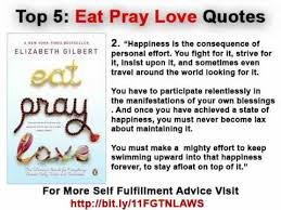 Eat Pray Love Quotes Enchanting Eat Pray Love Quotes Top 48 YouTube