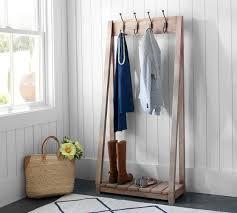 Creative Coat Rack Nifty Pottery Barn Coat Rack P100 On Creative Home Decor Ideas with 85
