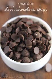 healthy dark chocolate.  Healthy Healthy Homemade Dark Chocolate Chips  You Just Need 2 Ingredients U0026 A  Plastic Bag On T