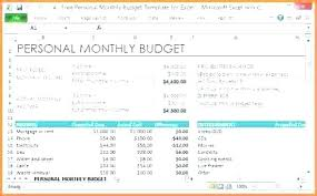 sample personal budget sample excel budget sample excel budget sample personal monthly