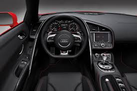 audi r8 spyder interior. Modren Spyder 2013 Brillant Red Audi R8 Spyder V10 Interior Throughout
