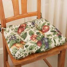 decorate your kitchen with the realistic looking fruit featured on the sonoma fruit chair cushion set chair cushions have apples gs pears and plums