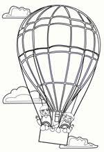 We4you2 Kleurplaten Van Luchtballon Vervoer