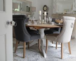 dining room chairs with back ring studded dining room chairs