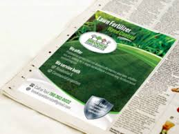 lawncare ad 25 bold playful lawn care newspaper ad designs for a lawn care