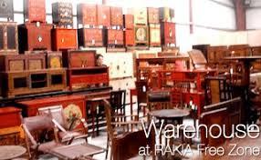 maison chic store in rak al hamra mall furniture handicraft