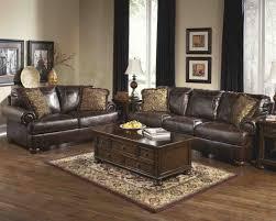 ashley furniture axiom living room set in walnut by ashley furniture 42000 set