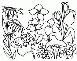 See also coloring pages image below: Garden Coloring Page Images For Kids Coloring Home