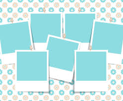 Collage Template Beautiful Photo Collage Template Vector Art Graphics Freevector 14