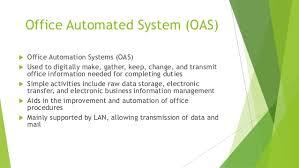 office automated system. office automated system