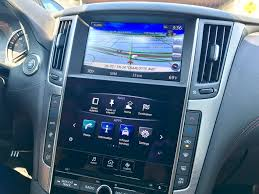2018 infiniti android auto. fine 2018 the dual screen system in the infiniti q50 combines a large display  with smaller and 2018 infiniti android auto