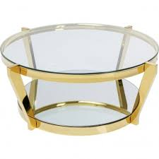 coffee table glass marble metal