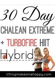 30 day chalean extreme turbofire hiit hybrid