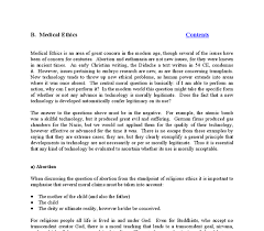 considering the ethics of abortion a level religious studies  document image preview