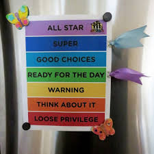 Chart Clip Free Behavior Clip Chart For Home Print On Standard 8 5x11